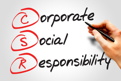 Corporate Social Responsibility (CSR), business concept